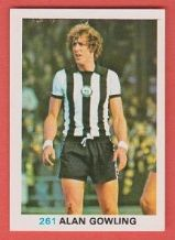 Newcastle United Alan Gowling